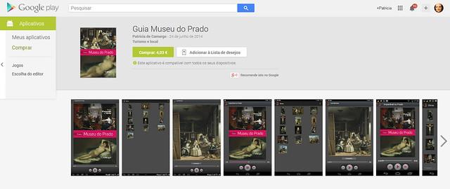 Aplicativo Museu do Prado