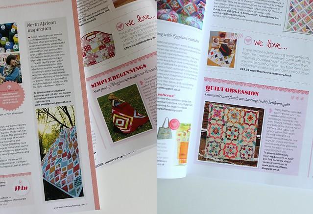 Patterns in print (sort of)