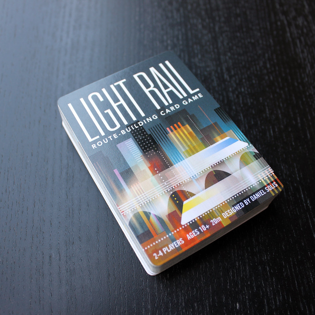 Sample of Complete LIGHT RAIL deck (54 Cards)