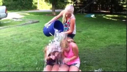 Bethany & Winnie Ice Bucket Challenge