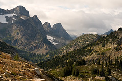 Trail up to Maple Pass