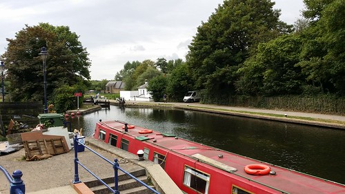 Joining the Grand Union Canal #LondonLOOP #sh