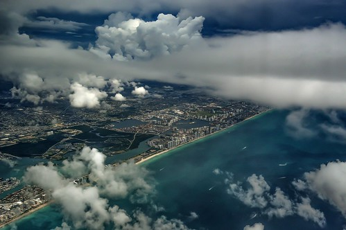 city sky clouds airplane photography inflight day florida miami air flight nikond3200