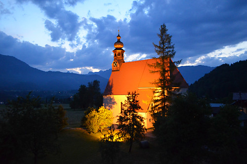 Church in St Agatha, Austria