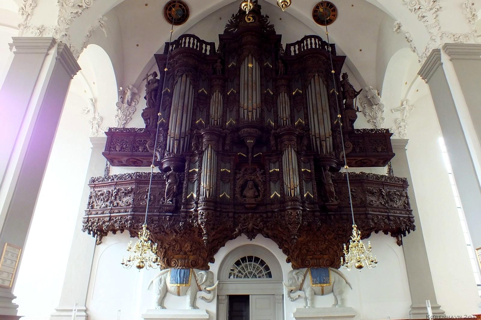 København, Denmark, Vor Frelsers Kirke