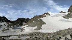 Col Collon e ghiacciaio d'Arolla (Valle D'Aosta - Svizzera)