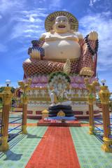 Buddha statue Wat Laem Suwannaram