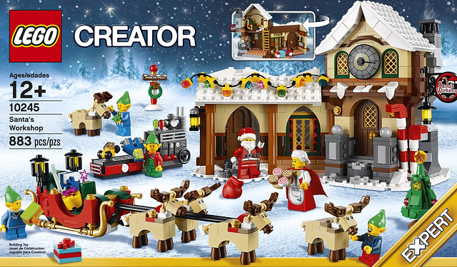 Art Explosion Calendar Maker Review : Lego creator holiday set santa s workshop unveiled