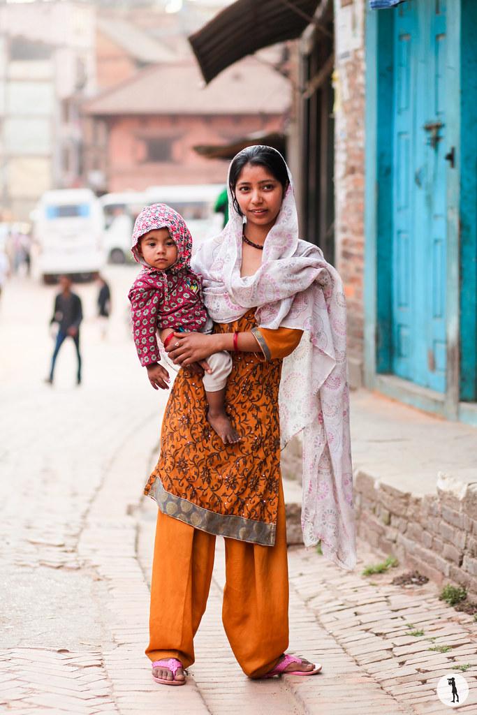 street style Nepal, in Bhaktapur