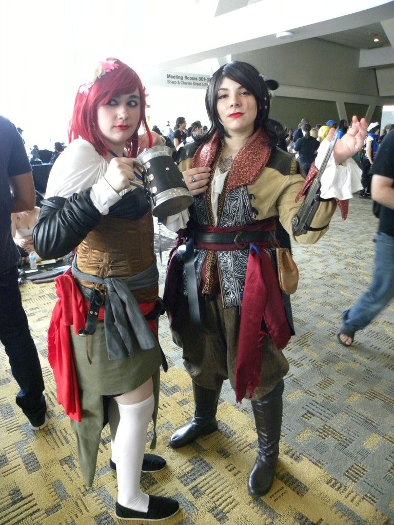 Anne Bonny And Mary Read Assassins Creed 4 Jose Ibanez Flickr