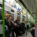 London Tube Carriage (Nikon D800 & 17-35mm Zoom)