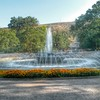 Still summer in the park... Listening to Bach. #Tbilisi #Vake #park #fountain #trees #landscspe