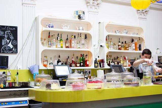 Drink shop do in King's Cross