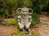 Cuba figurine Taino. Botanical Garden . Paradisus Rio del Oro Spa and Resorts, Holguin