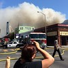 5 Alarm Fire in SF The Mission