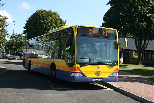 First Beeline 64018 on Route B1, Great Hollands