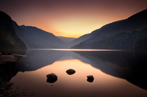 autumn ireland sunset summer nature night outdoors evening dusk sunny glendalough wicklow