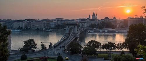 bridge rio sunrise river puente dawn nikon hungary budapest amanecer danube hungría danubio platinumheartaward jesuscm elitegalleryaoi