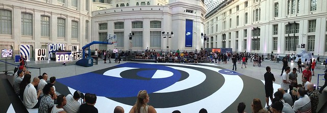 Court at #Sneakerball event by @Nike_spain (Palacio Cibeles, Madrid)