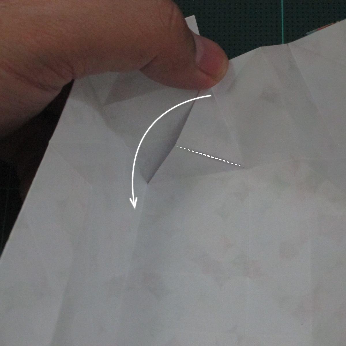 วิธีพับกล่องของขวัญแบบมีฝาปิด (Origami Present Box With Lid) 021