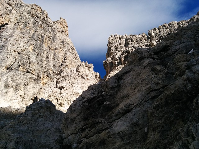 Aufstieg Hochbrunner Schneid