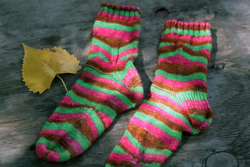 Mystik Spiral Socks