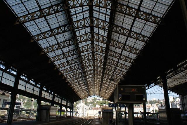 Gare de Perrache à Lyon.