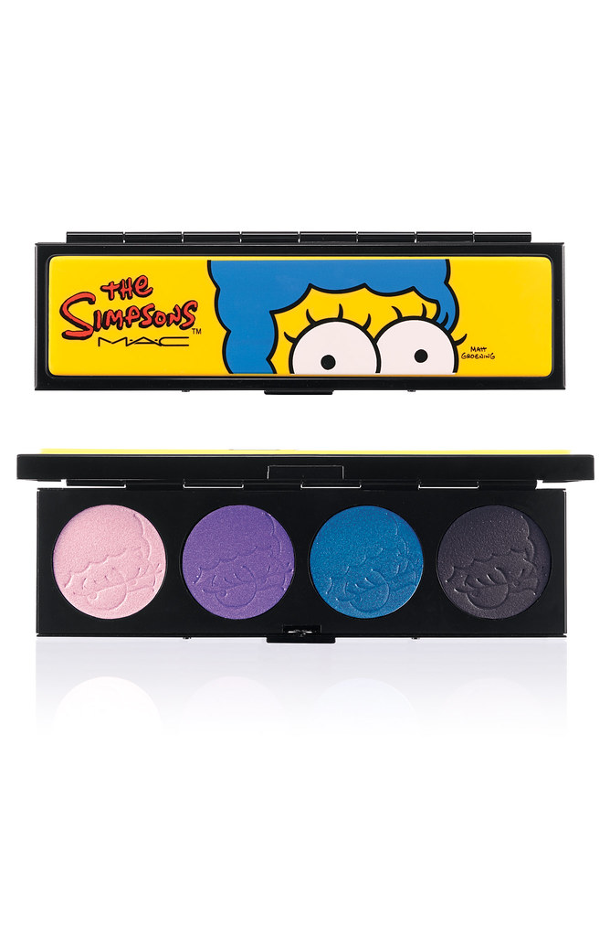 SIMPSONS-EYESHADOW QUAD-Marges Extra Ingredients-300
