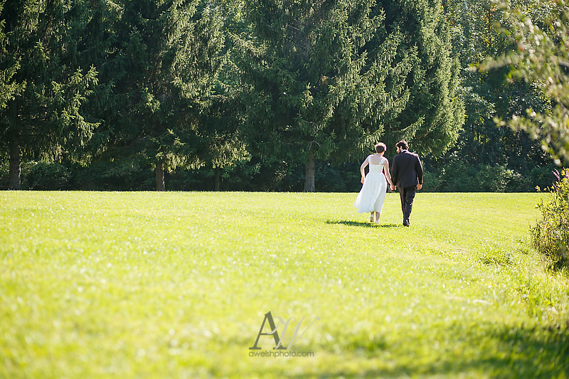 Rochester wedding photographer outdoor Churchville park tent Andrew Welsh Photography