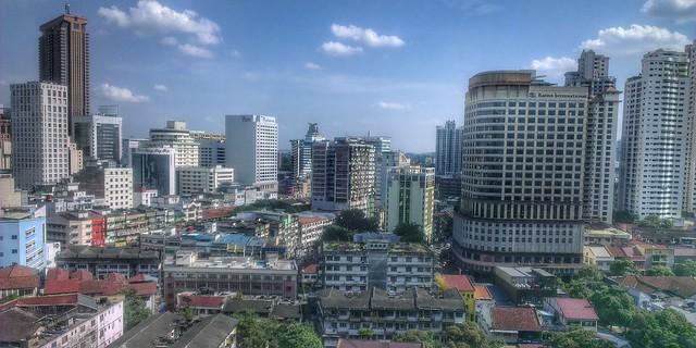 Bukit Bintang view, KL
