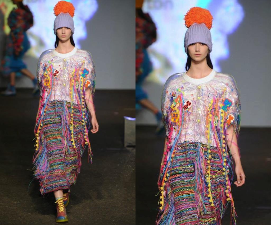 Piñata Jumpsuit - Graduate Collection Kirsty Anderton