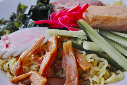 Hiyashi Chuka (chilled Chinese noodles)