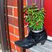Boot Flower Pot  - Ottawa 08 14 by Mikey G Ottawa