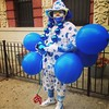 Who saw this clown at today's @africanamericandayparade ? If you saw him RT or regram!!! #harlem