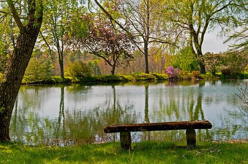 reflections bench spring maine wells thefarm hbm wellsme