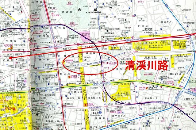 ソウル 清渓川路