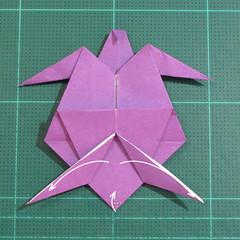 วิธีพับกระดาษเป็นรูปเต่าแบบง่าย (Easy Origami Turtle) 017
