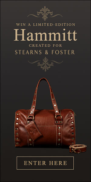 Stearns Foster Bag Giveaway
