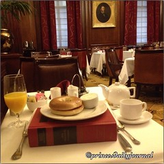 """Today I am reading civil procedure  while learning the legal concept of Federal Question Jurisdiction. #whatsprinceeating: """"Toasted Bagel w/ Orange Juice & Hot Tea"""" www.princesdailyjournal.com #princeinthecity #princesdailyjournal #princesbriefcase #lawsc"""