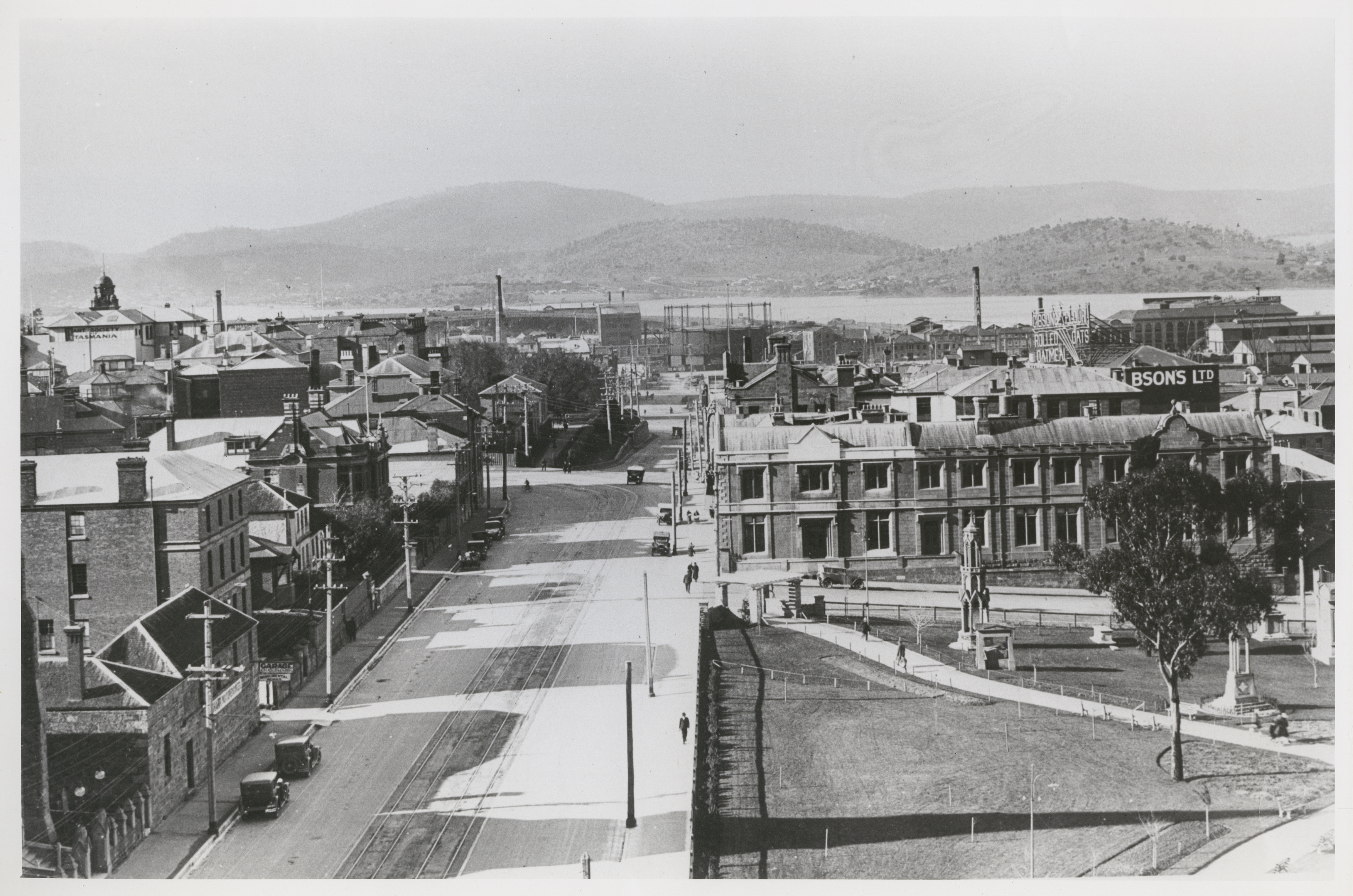 Down Davey Street 1920s/30s