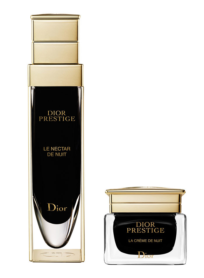 dior prestige le nectar la creme de nuit news beautyalmanac. Black Bedroom Furniture Sets. Home Design Ideas