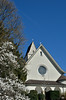 Catholic church (Katholische Kirche), Richterswil, Zurich, Switzerland.