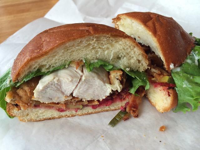 Chick Chick sandwich - Woodward Takeout Food