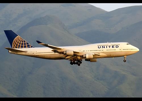 Boeing | 747-422 | United Airlines | N177UA | Hong Kong | HKG | VHHH