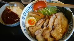 濱塩肉のせ+濱黒カレー(ミニ)@濱塩…