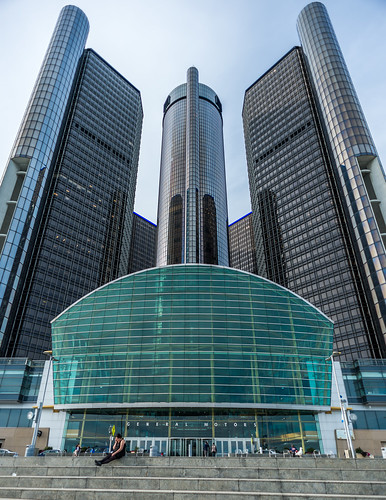 General Motors HQ - The Renaissance Center by Geoff Livingston
