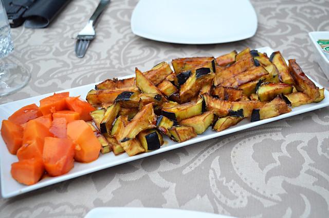 Aubergine chips, TascaTelemaco, Hermigua, La Gomera
