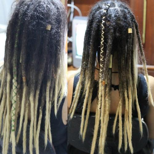 Manutenção nos dreads da Gabi... Gratidão sistah! #hospitaldodread #dreadlock #dread #dreadmaker #dreadsbrasil #dreadhead #instadreads #dreadstyle #dreads
