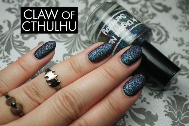 Digital Nails Serenity Swatch (with OPI Matte Top Coat)