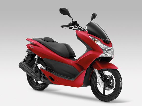 Motoridingru Honda Honda обновляет скутер Pcx125